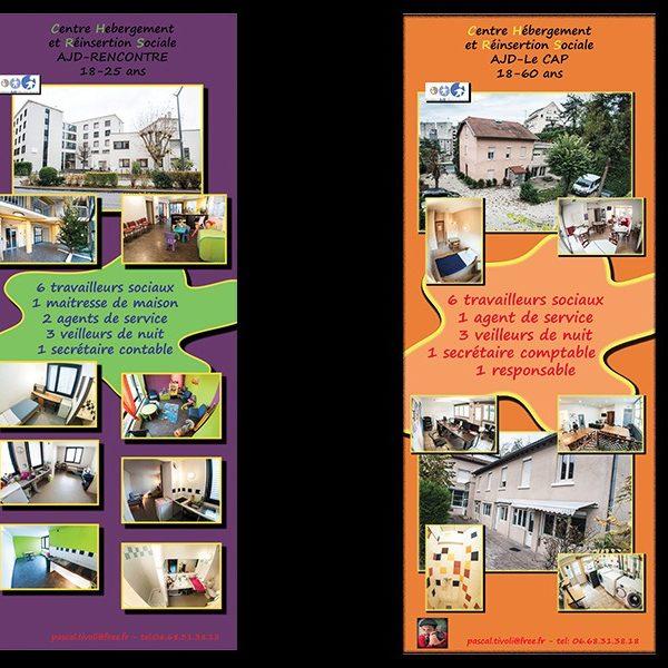 Kakemonos- Fondation AJD- pôle CHRS